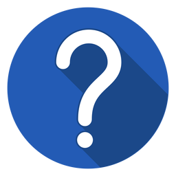 Blue Circle Question Mark Icon In Question Mark Icon Question Mark Logo Question Mark