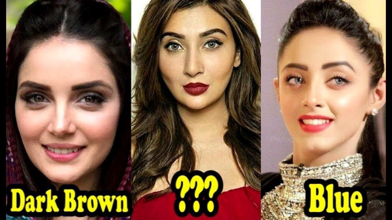 Top 10 Beautiful Eyes Of Pakistani Actresses 2018 You Don T Know