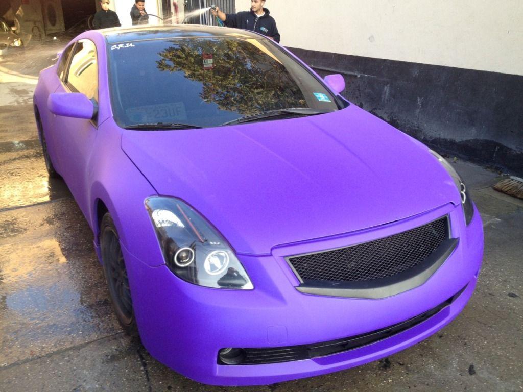 Plastidip Car Plasti Dip Car Car Purple Car