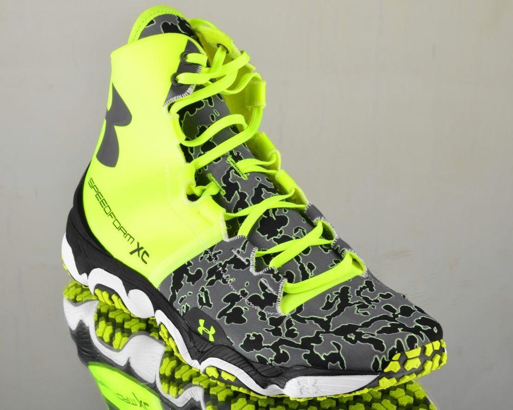 buy popular 2dfdd 08b54 Under Armour Speedform XC Mid Trail UA men running sneakers NEW volt grey  black  UnderArmour  RunningCrossTraining