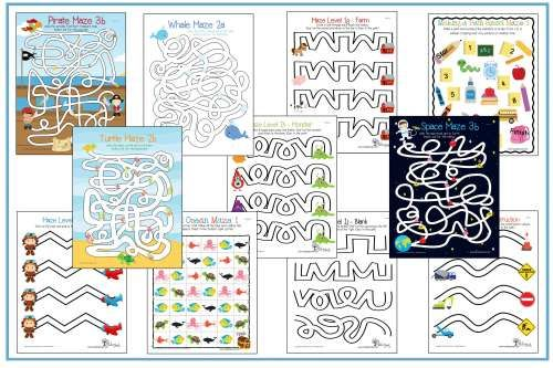 using mazes as an occupational therapy intervention to address visual motor skills www. Black Bedroom Furniture Sets. Home Design Ideas