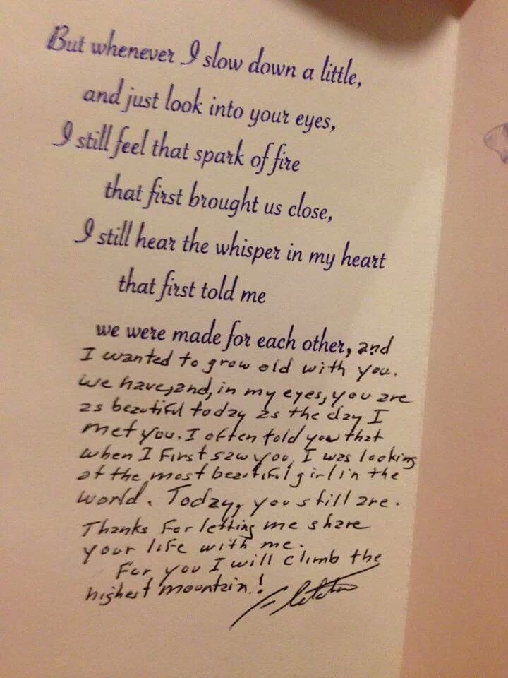88 years old man's birthday letter to his 65 years old wife. ..