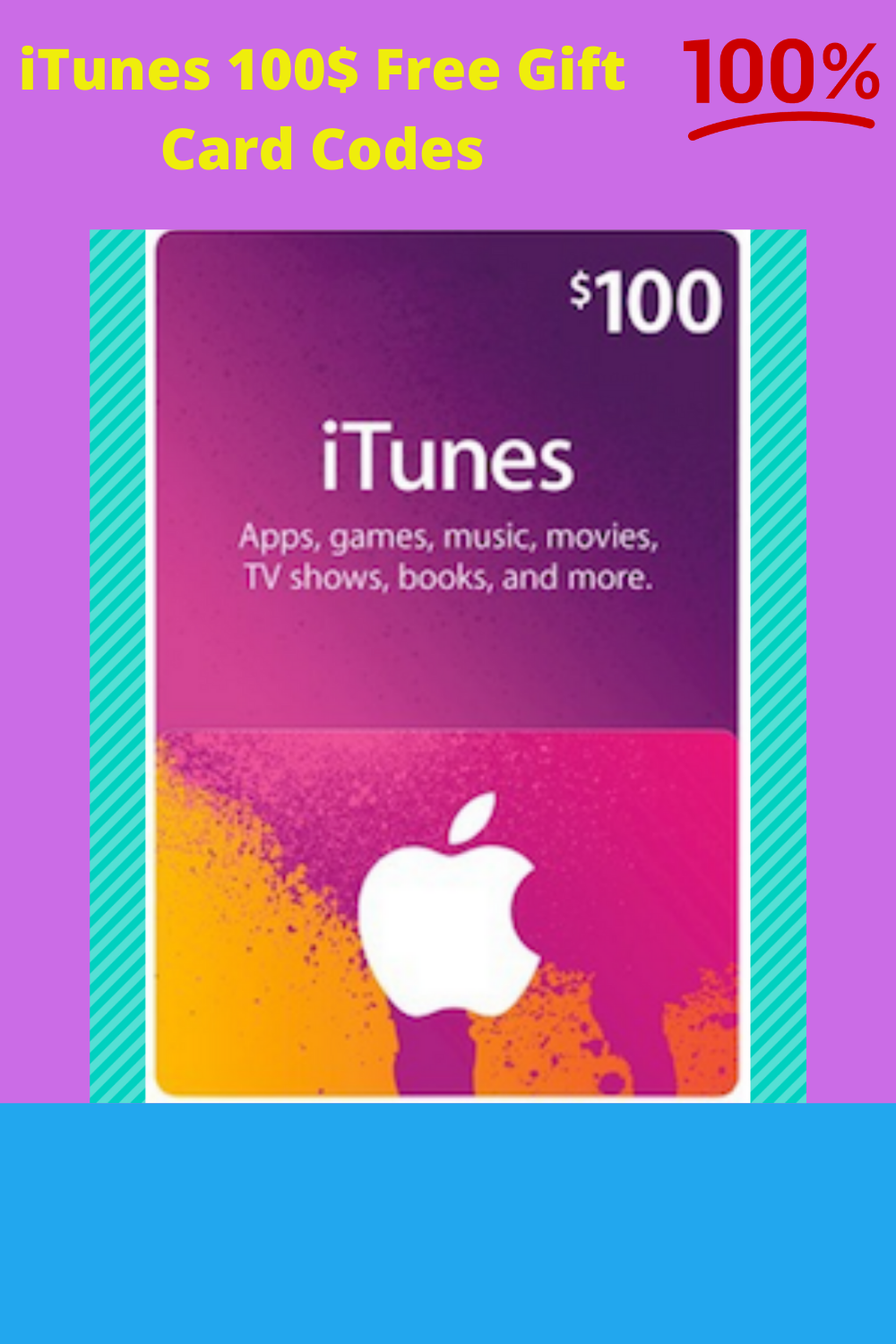 Free 100 Itunes Gift Card Codes Free Itunes Gift Card Itunes Gift Cards Itunes Card Codes