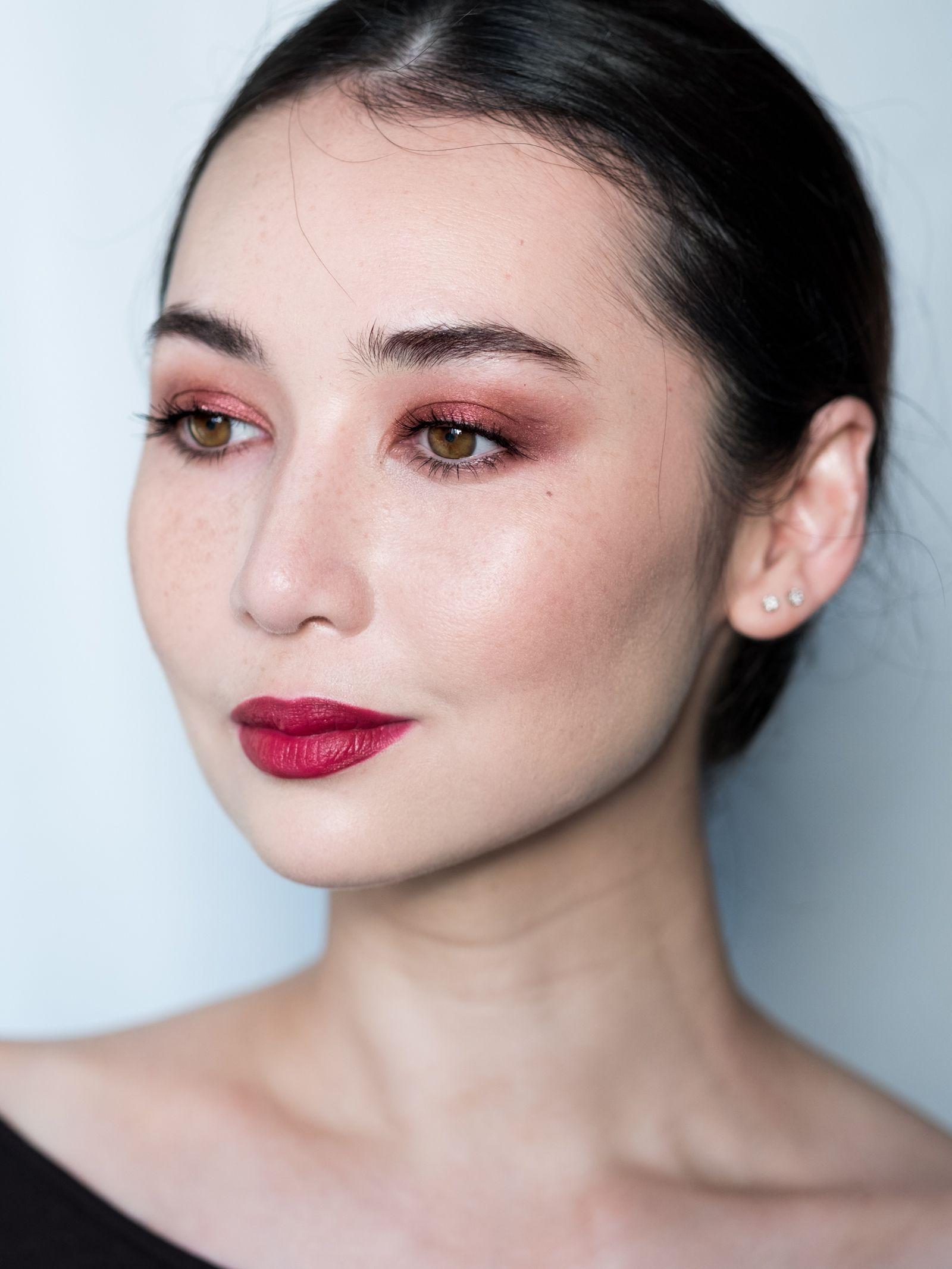 fotd fall reds Makeup inspiration