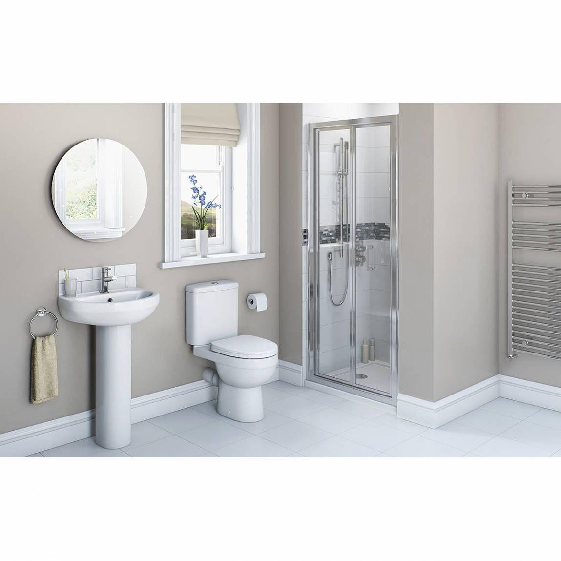 260 victoria plumb energy bathroom set with bifold shower door 800 includes shower door - Bathroom Accessories Victoria Plumb