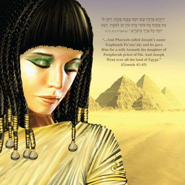 Asenath, I've hear people criticize her as a pagan, but ...