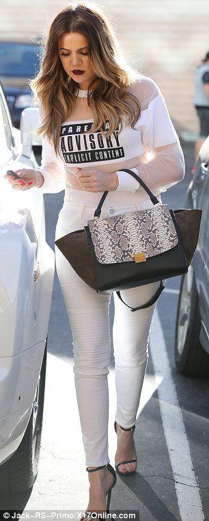 Khloe Kardashian Out in Malibu March 20 2014