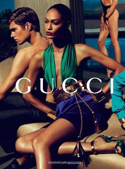 """Gucci.  I loved this so much...it was the collection that got designers thinking """"brights"""" again.  I bought a knock off belt like this, too!"""