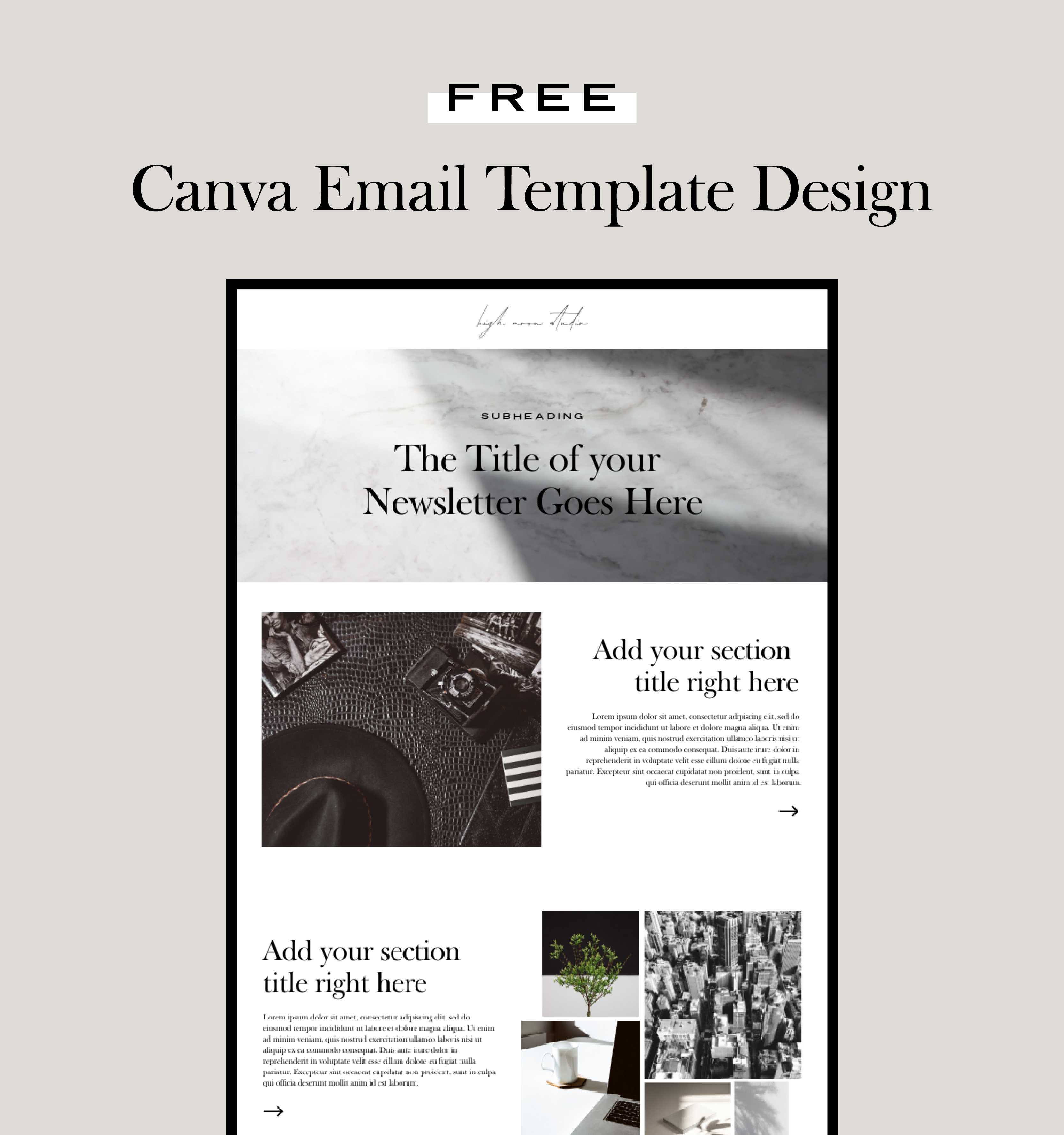 canva canvatemplate emaildesign emailnewsletter