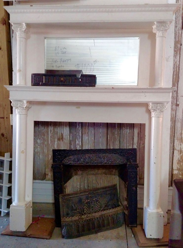 Antique Victorian Style Fireplace Mantel Fireplace Mantels Home