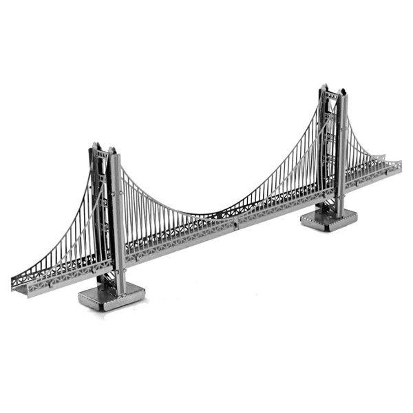 These Detailed Miniature Size Models Start As 4 Square Flat Steel Sheets Golden Gate Bridge San Francisco Golden Gate Bridge World Famous Buildings