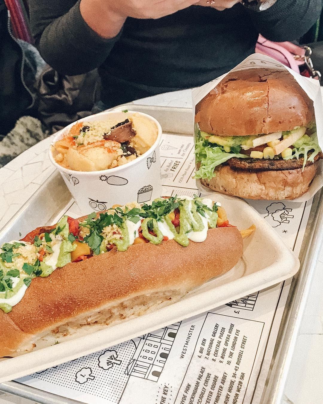 By Chloe Is A Vegan Fast Food Heaven Eatbychloe Dinemillennial Vegan Fast Food Recipes From Heaven Food