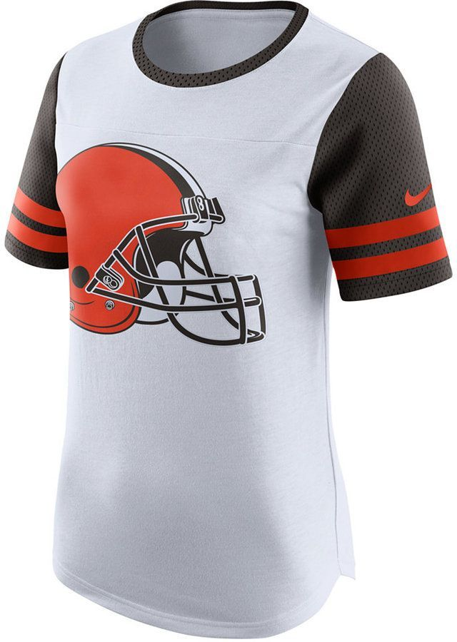 6290fa5f Nike Women's Cleveland Browns Gear Up Fan Top T-Shirt   Products ...