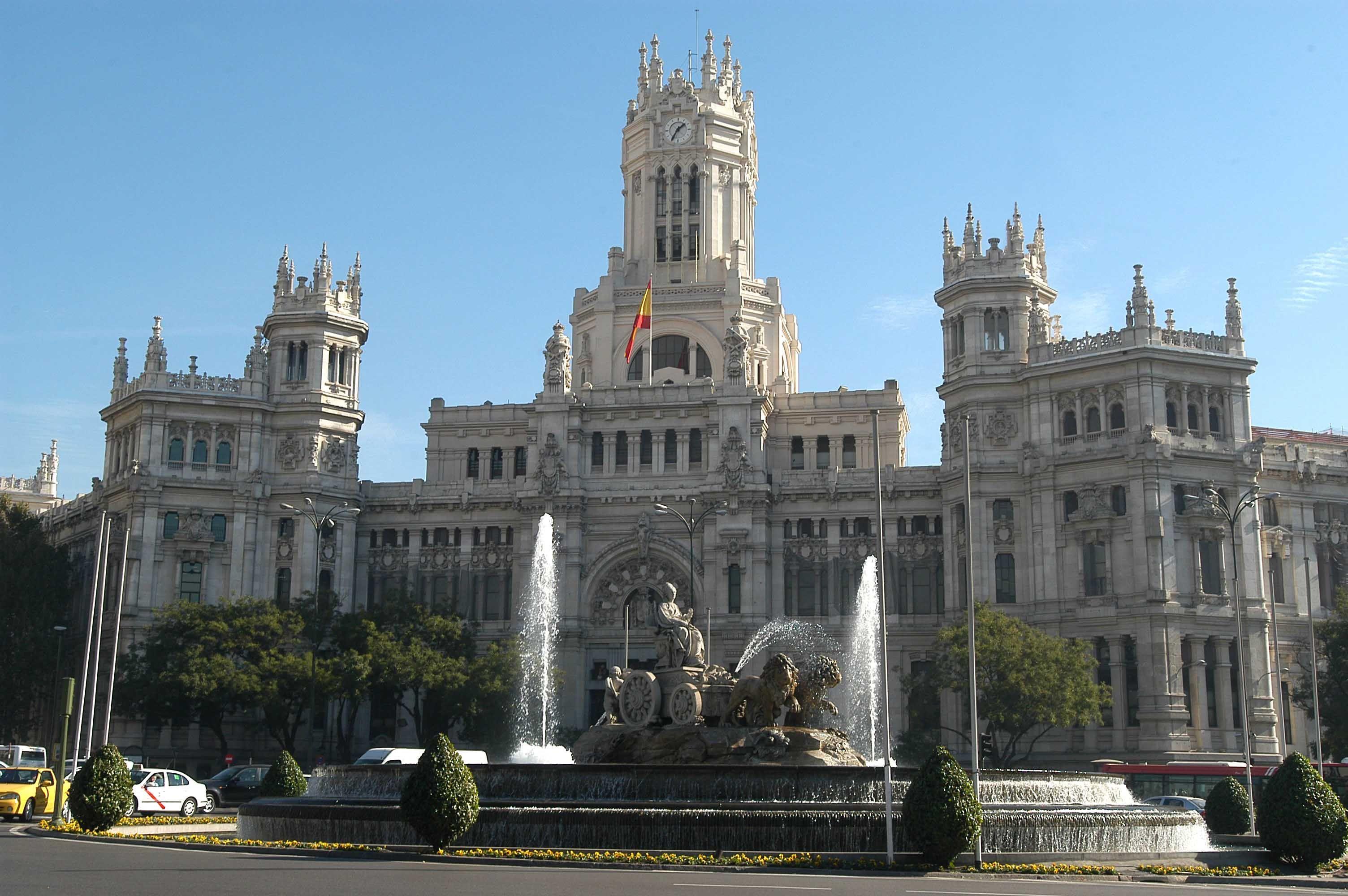 Palacio De Cibeles Madrid España Turismo Madrid Turismo