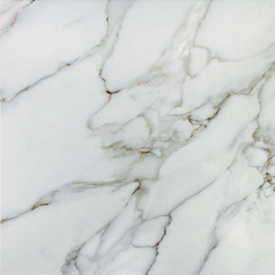 For my kitchen floor- Shop CELIMA Calcutta Blanco Ceramic Indoor ...