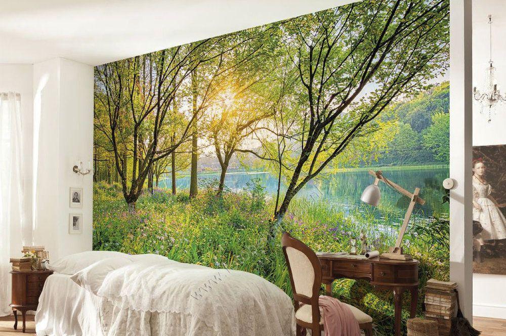 Natuur Behang Slaapkamer : Slaapkamer behang natuur werkkamer pinterest slaapkamer behang