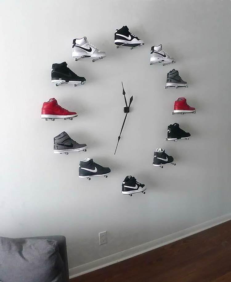 Usando sneakers como decoração