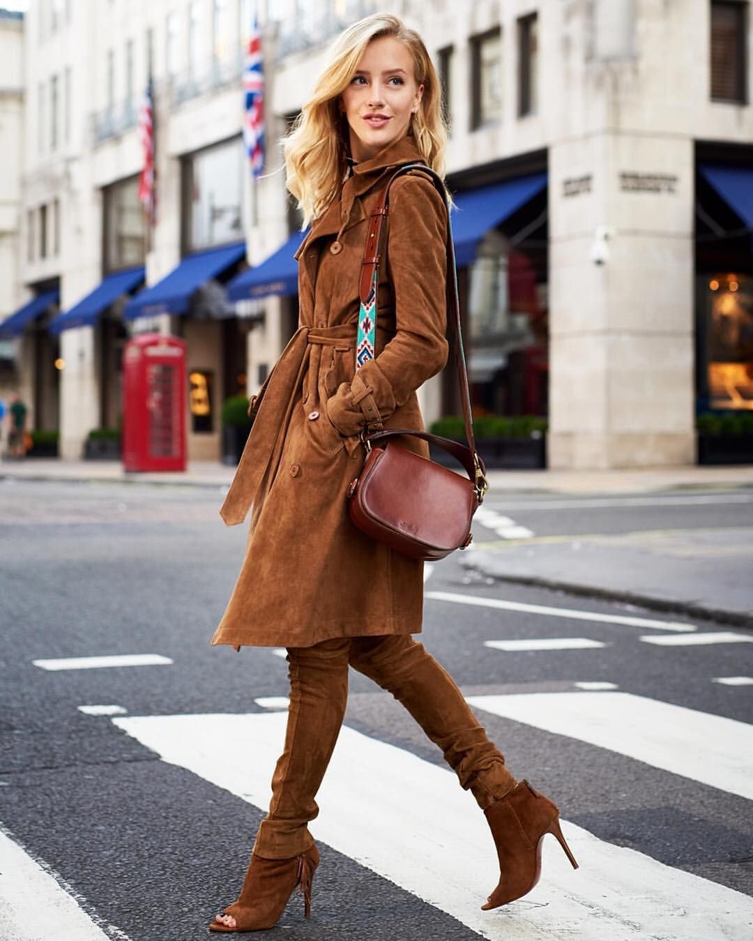 b95898a2f8 Ralph Lauren  Spotted in  London  fashion blogger SARAH MIKAELA in  Polo  Fall…
