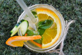 Aguas infusionadas con fruta - Fruit infused waters