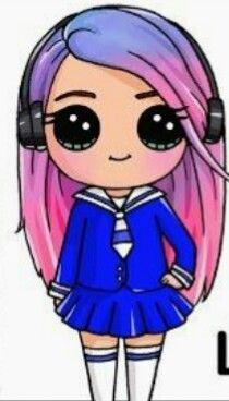 Rock Girl Garota Rockeira Desenhos Kawaii Tumblr Desenhos