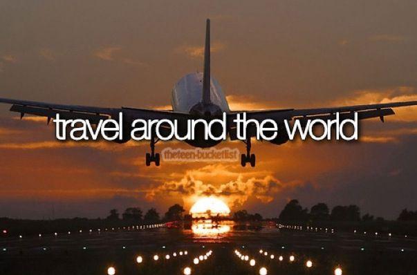 Travel around the world❤
