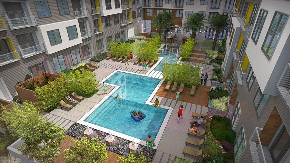 512 524 2900 0 2 Bedroom 1 2 Bath Elan East Apartments 2900 Manor Road Austin Tx 78722 Austin Apartment Apartments For Rent Great Places