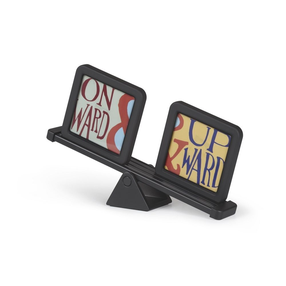 teeter totter seesaw umbra photo picture frame display black