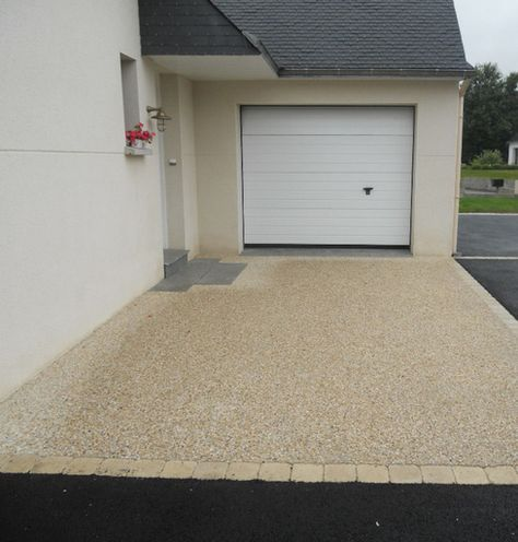 Allee beton desactive toulliou lorient guidel quimperle for Beton allee garage