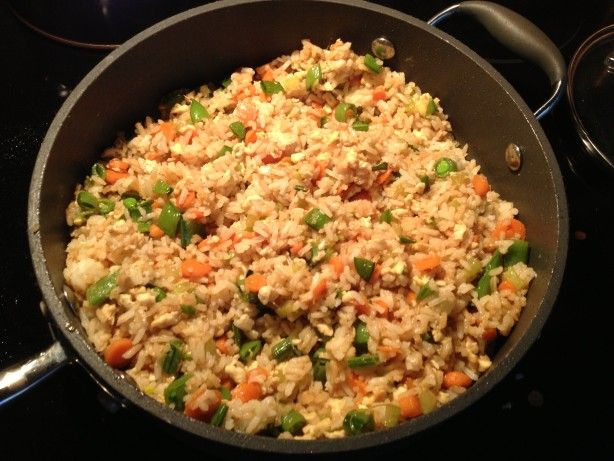 Easy fried rice recipe easy fried rice rice and hamburgers ccuart Choice Image