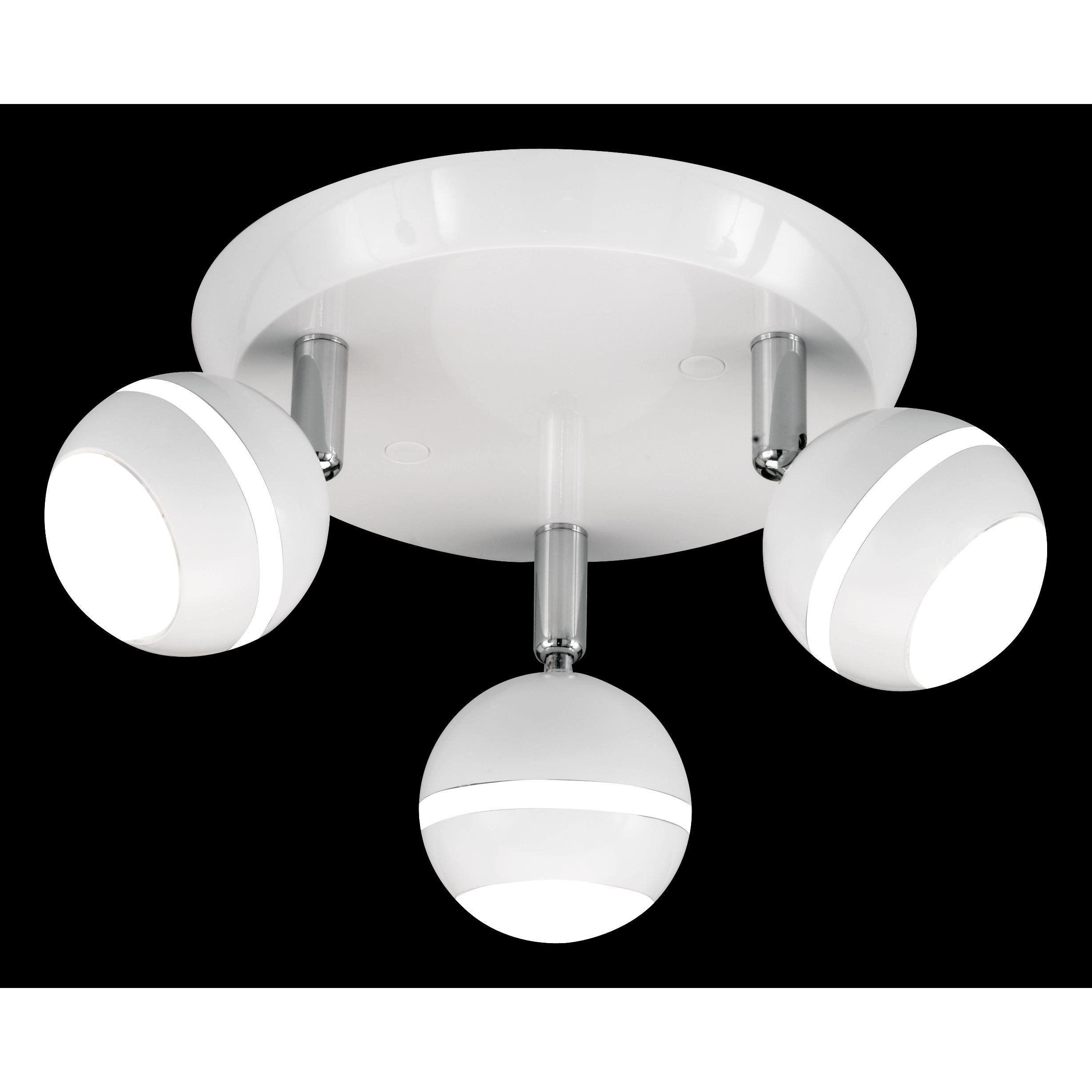 Trio Spottivalaisin LED (3-os, valkoinen)