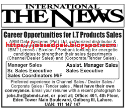 Careers Opportunities For I T Products Sales The News Career