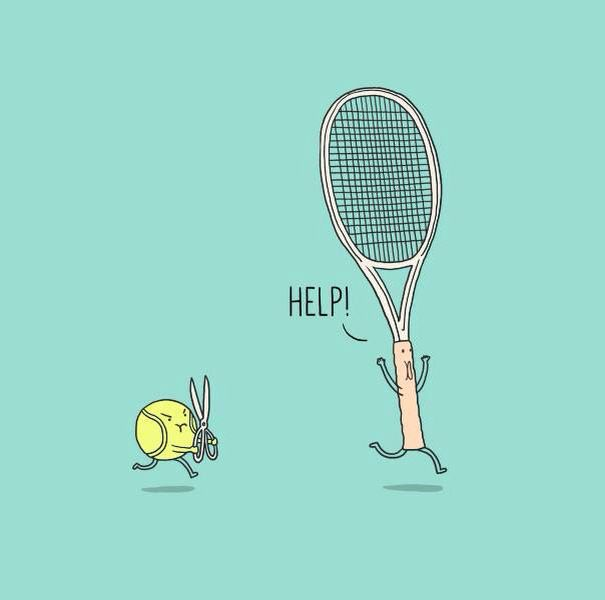 Run Run Run Tennis Funny Tennis Art Tennis Workout