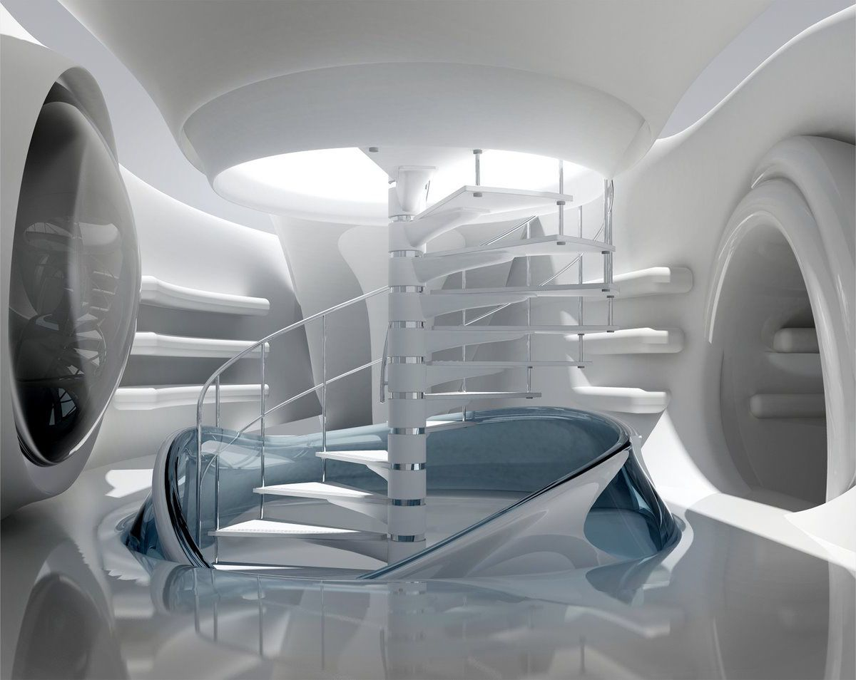 Interior Future Futuristic Interior Spaceship Interior Futuristic Design