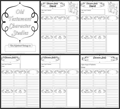 Worksheets Bible Character Study Worksheet free old testament character study notebooking pages if you go to the freebies page on this site will find many other bibl