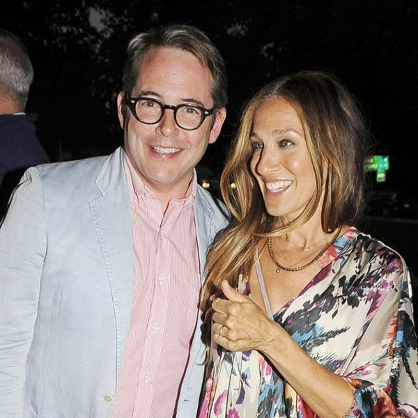 Matthew Broderick can totally pull off the geek chic look! Just check him out in retro-inspired, chunky black specs!