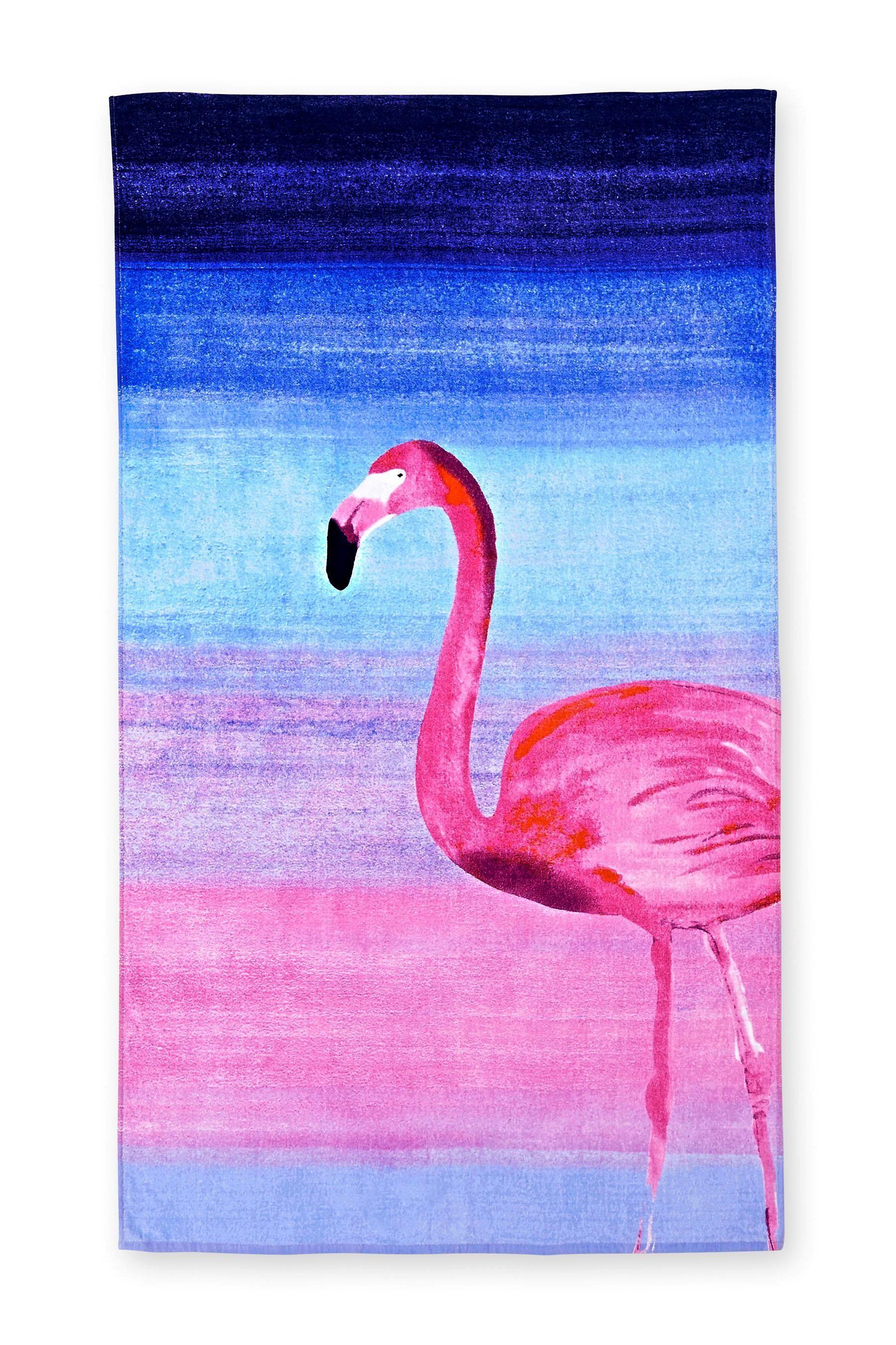 acheter serviette de plage imprim flamand rose en ligne sur next france pink flamingo. Black Bedroom Furniture Sets. Home Design Ideas