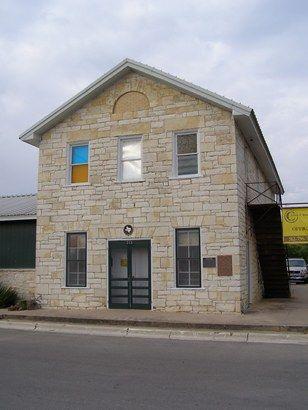 Burnet TX - Masonic Lodge, Oldest commercial building