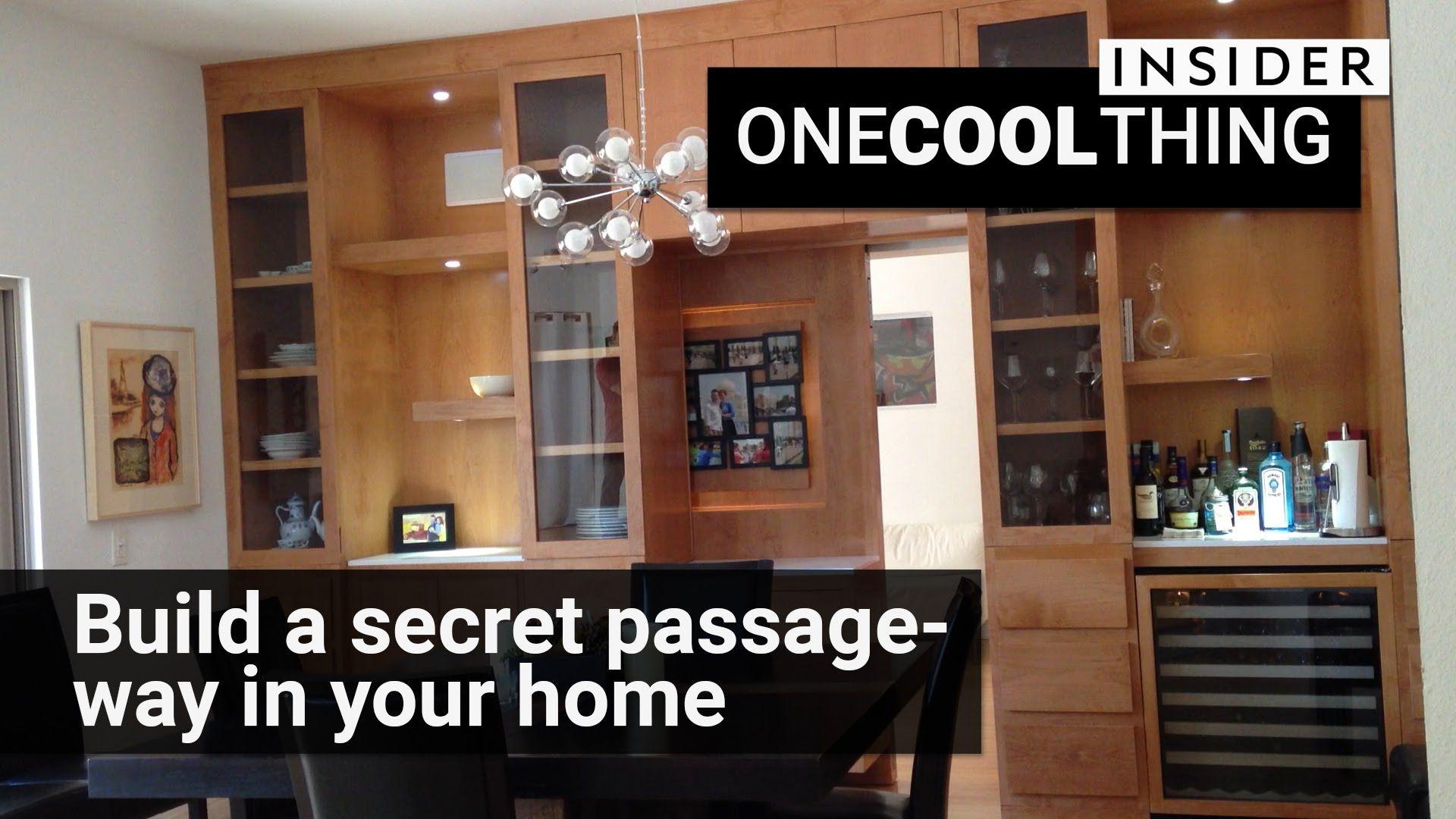 Creative Home Engineering Designs Trap Doors, Secret Rooms, Fake Bookshelves