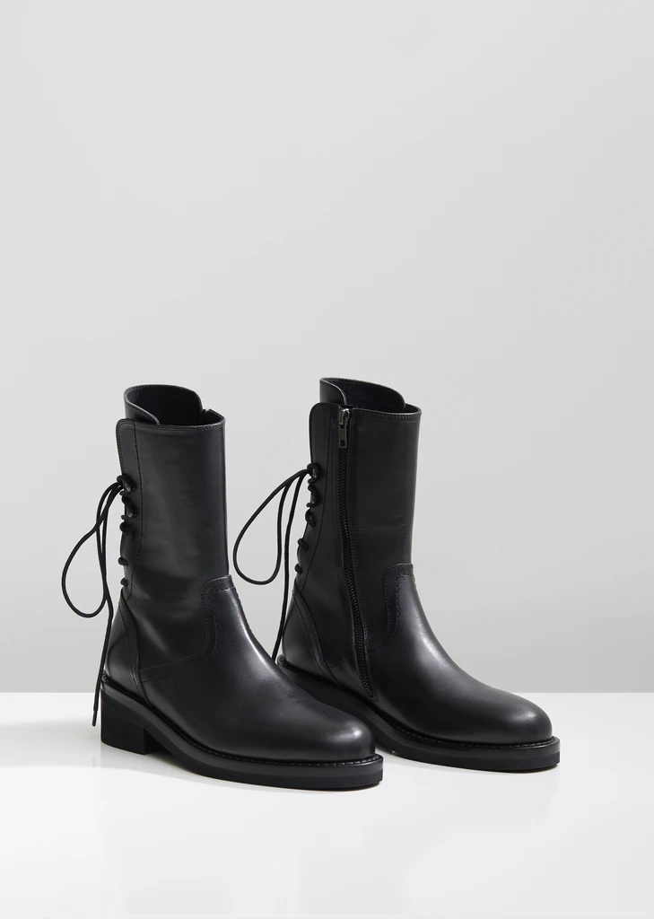 Heeled Leather Ankle Boots By Ann Demeulemeester La Garconne In 2020 Boots Ann Demeulemeester Boots Leather Ankle Boots