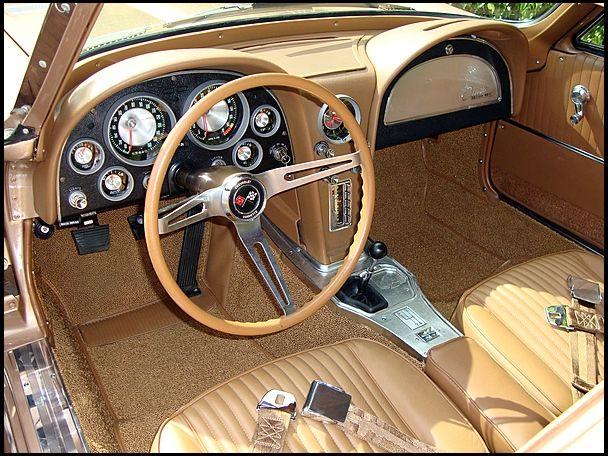 1963 Corvette Interior Corvette Stingray Corvette Chevy Corvette