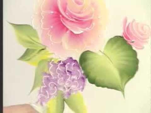 Idee Quadri Da Dipingere : One strock çiçek yapımı youtube gihan nel 2019 painting donna