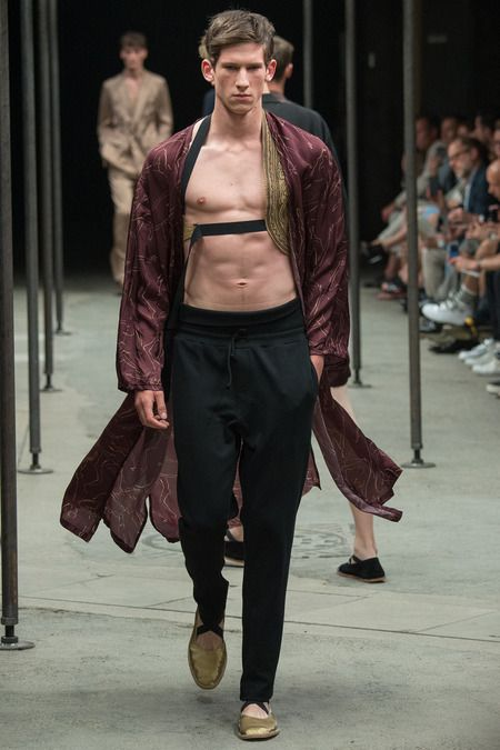 Dries Van Noten | Spring 2015 Menswear Collection |