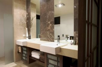 Asian Bathroom Design I Like The Towel Drawers Sinks Vase With Stems