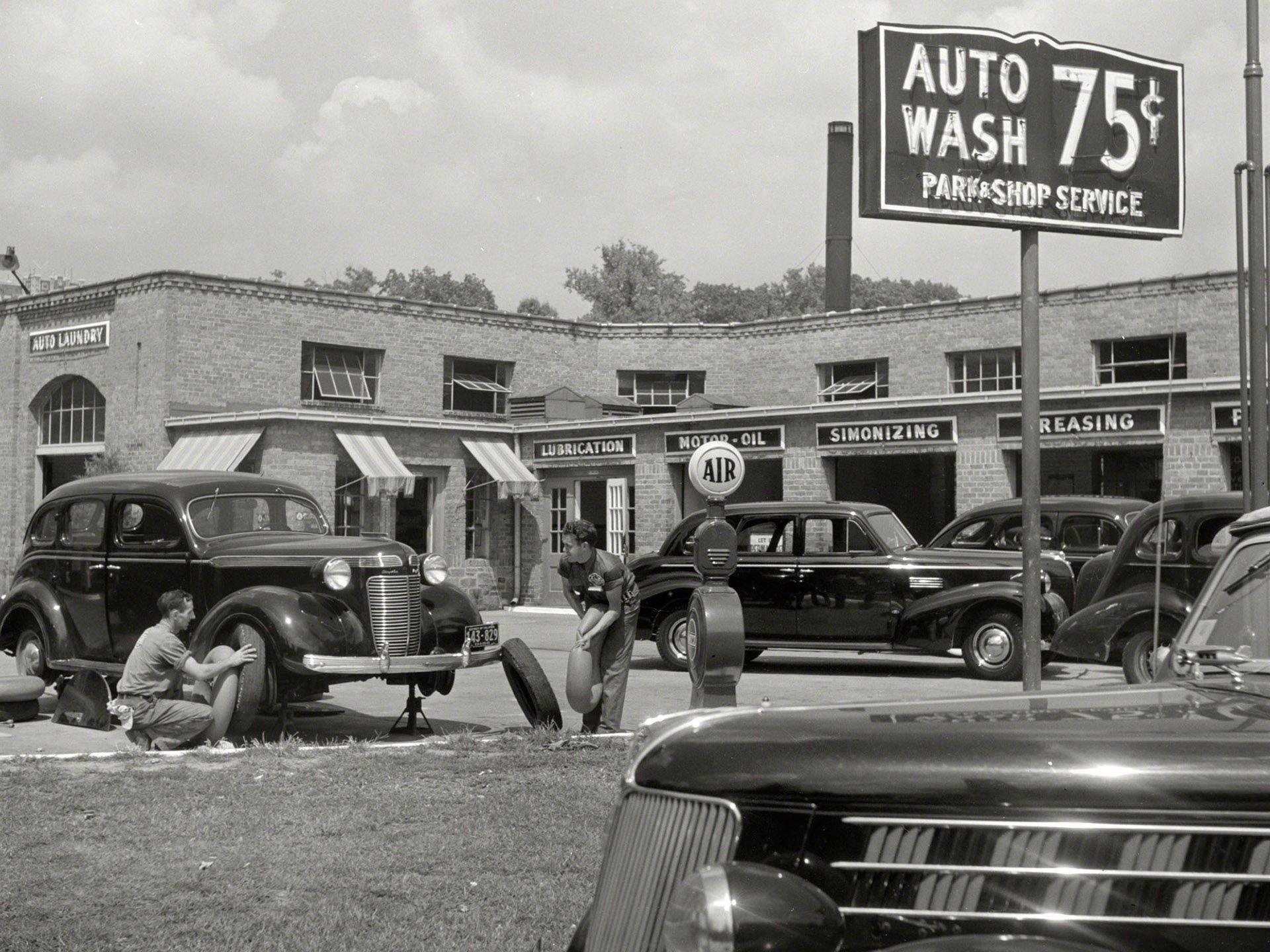 Vintage Mechanic Garage Storefront Inspiration Pinterest