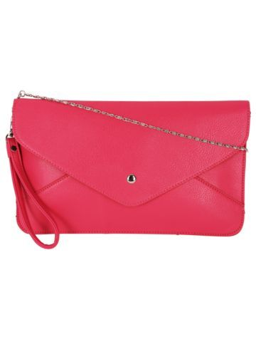 4c943bd5a1ad Hot Pink Envelope Clutch Bag | Accessories and Jewels | Pinterest ...