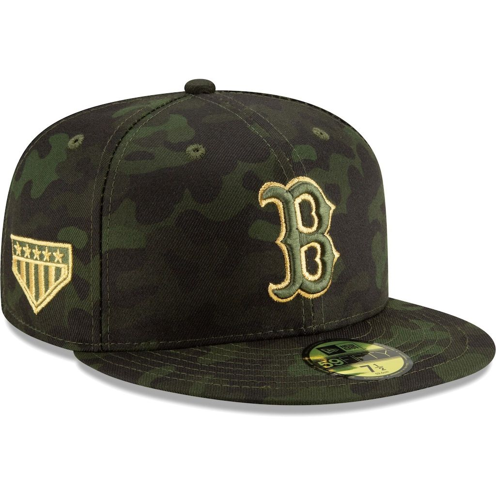Boston red sox new era 2019 mlb armed forces day onfield