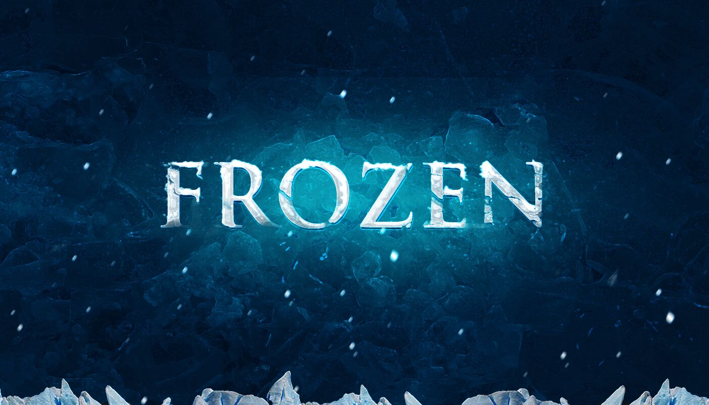 Create realistic frozen text effect in photoshop photoshop in this tutorial i will show the process i used to create this realistic frozen baditri Image collections
