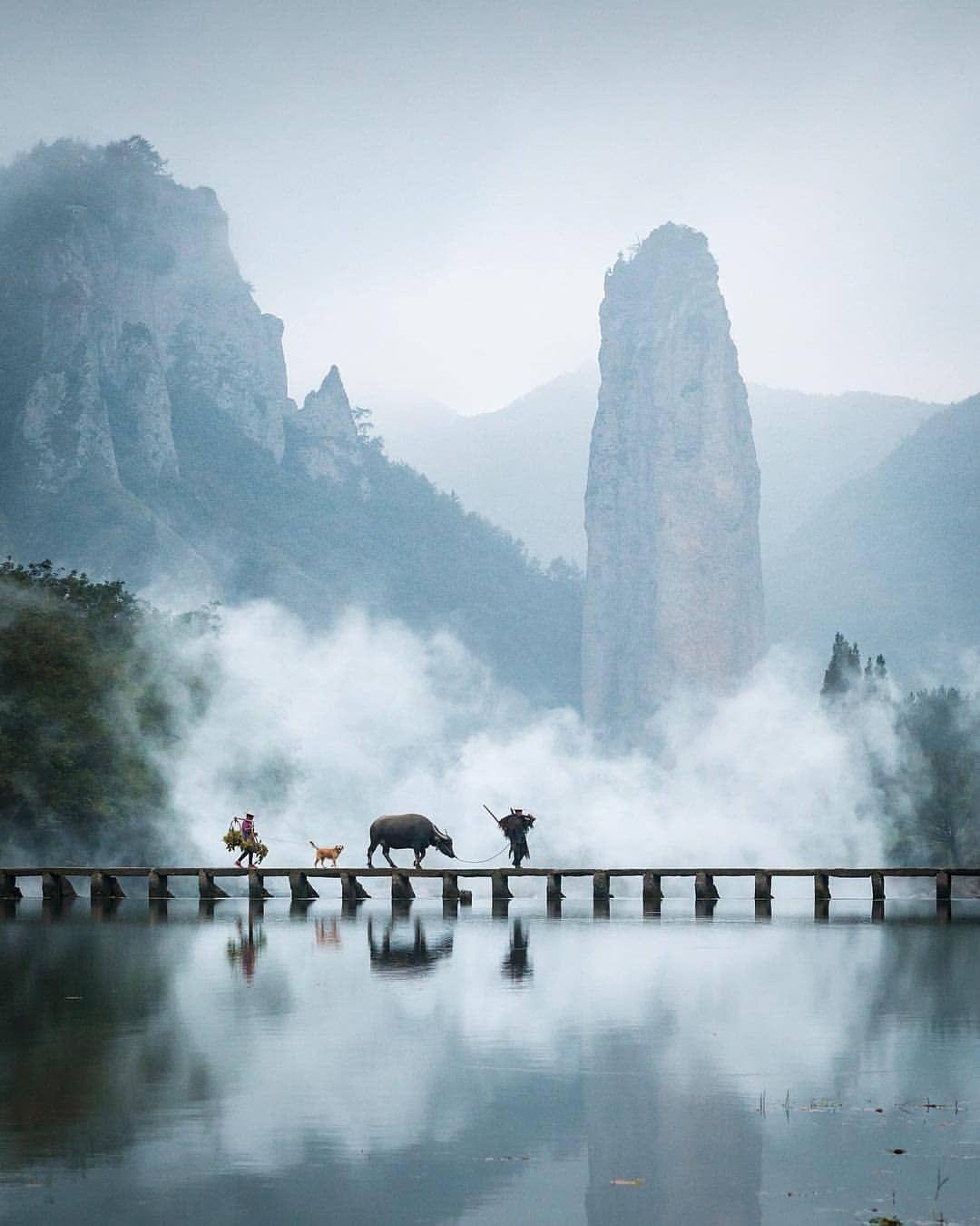 Folk Scenery On Instagram Calm And Peaceful China Photo By Jordhammond Folkscenery Follow Us Folkscener Travel And Leisure Travel Photos Travel Spot