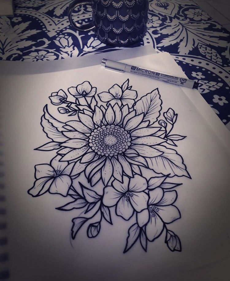 Photo of Mel Perlman's Work ♥ I would make this a thigh tattoo