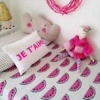Eco Watermelon Baby Blanket